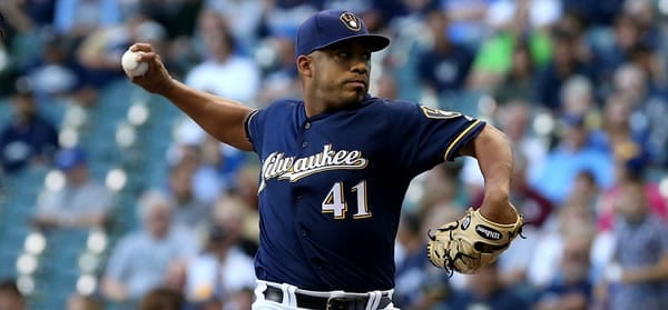 Junior Guerra Brewers Starting Pitcher