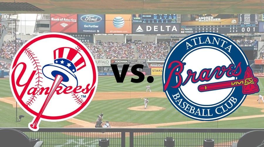 Braves at Yankees