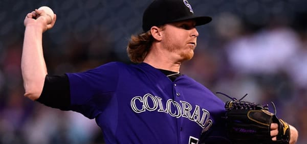 Jon Gray Rockies Starter tonight versus the Dodgers