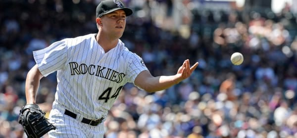 Tyler Anderson Rockies Starting Pitcher