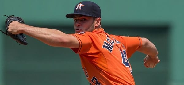 Lance McCullers gets the start for Houston against the LA Angels