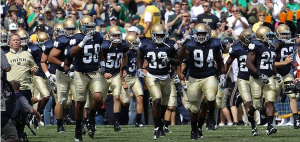 Pick: Notre Dame Fighting Irish vs. Wake Forest Demon Deacons