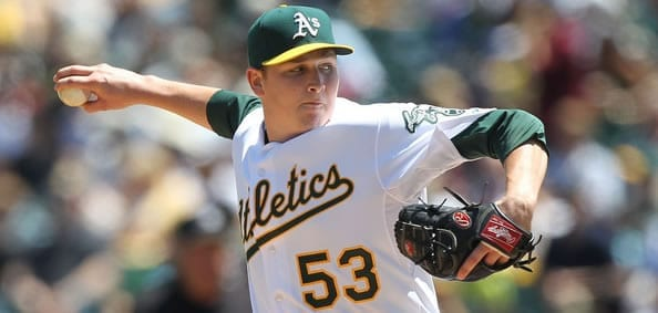 Trevor Cahill Athletics Starter