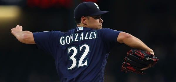 Marco Gonzalez Mariners starter versus Angels