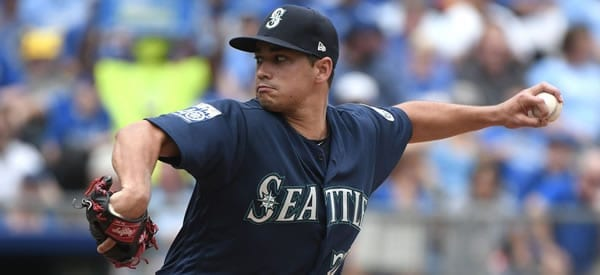 Marco Gonzales Mariners pitcher for July 11, 2018