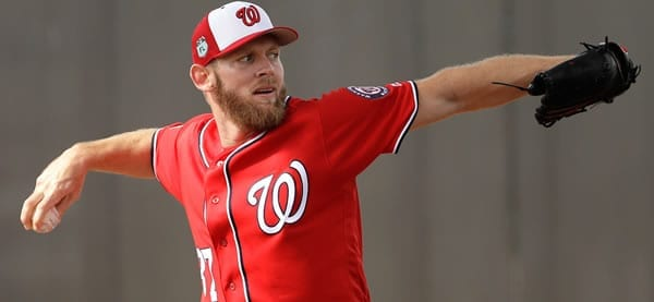 Stephen Strasburg Nationals Starting Pitcher