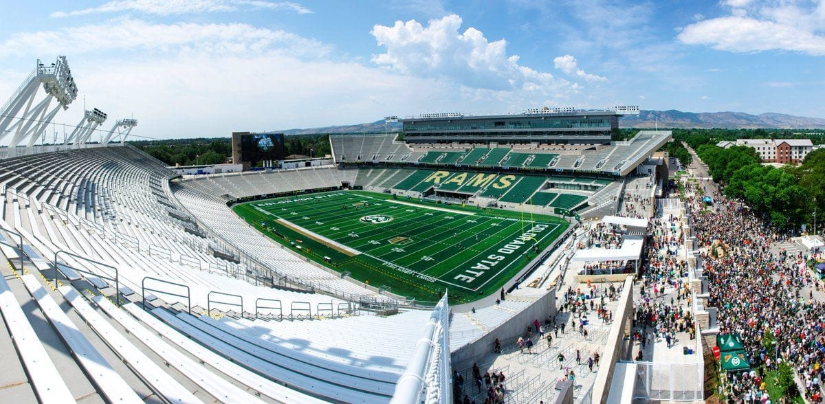 Colorado State Rams Stadium