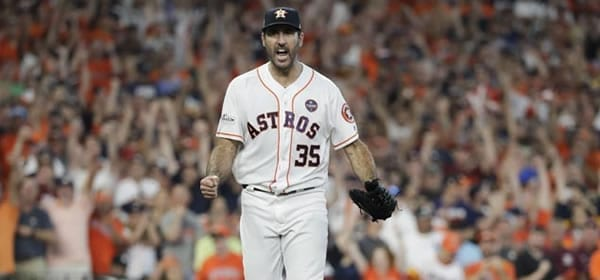 Justin Verlander Astros starter versus the Athletics tonight