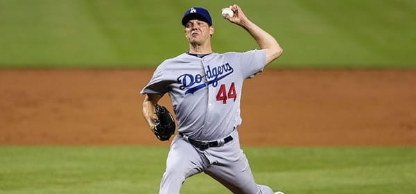 Rich Hill Dodgers starter versus the Red Sox tonight