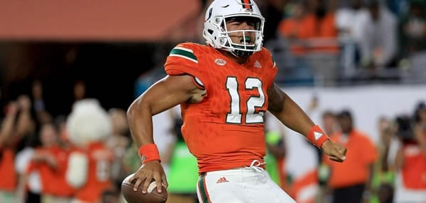 Miami Hurricanes vs. Boston College Eagles Pick