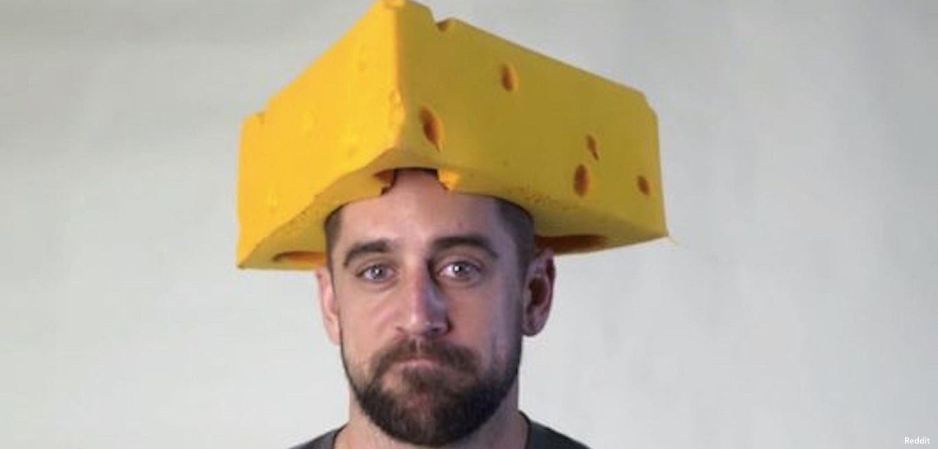 Aaron Rodgers Cheesehead