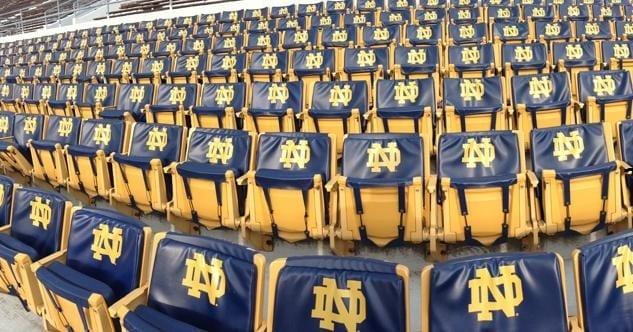 Notre Dame Seats