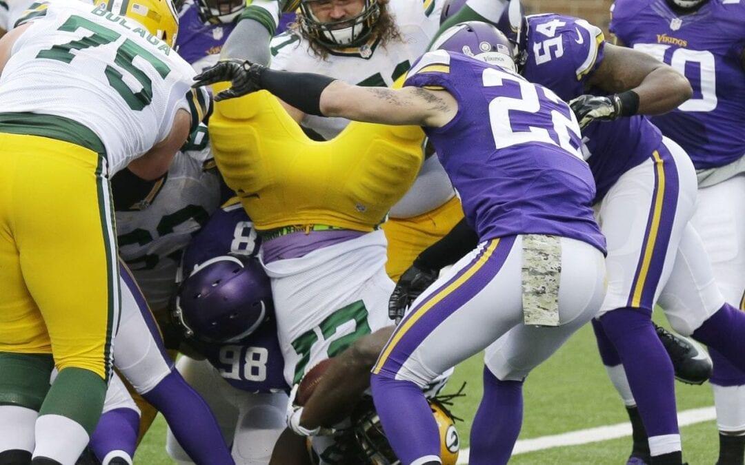 Minnesota Vikings vs. Green Bay Packers Total Play