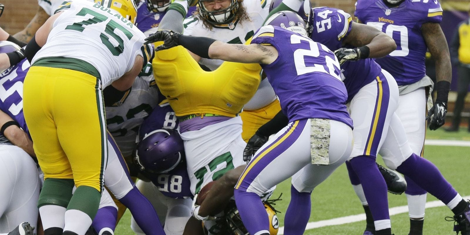 Green Bay Packers vs. Minnesota Vikings Pick