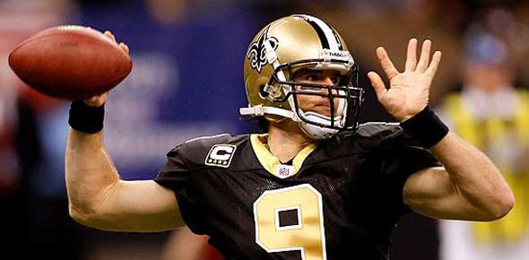 Drew Brees Saints QB