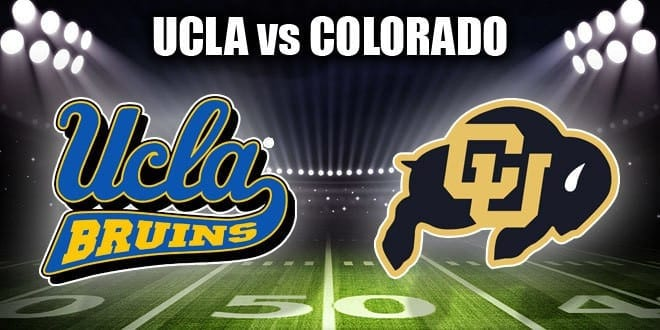 UCLA Bruins vs Colorado Buffaloes