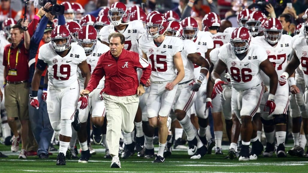 Louisiana Ragin Cajuns vs Alabama Crimson Tide Pick