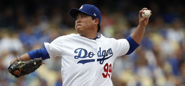 Hyun-Jin Ryu LAD starter tonight in NLCS Game 2