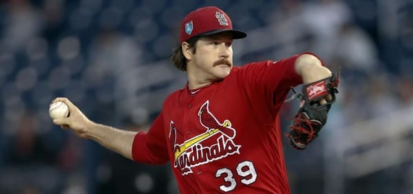 Cardinals starting pitcher Miles Mikolas