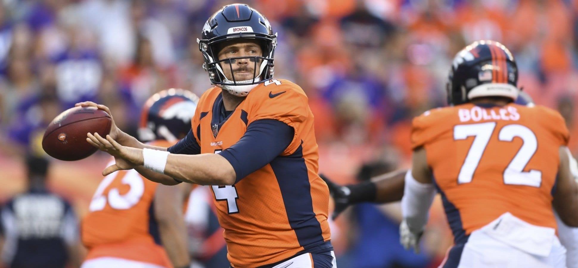 Broncos QB Case Keenum