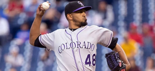 German Marquiz Rockies Starting Pitcher