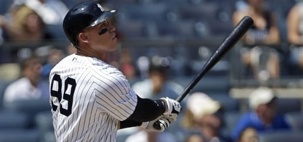 Aaron Judge NY Yankees Slugger
