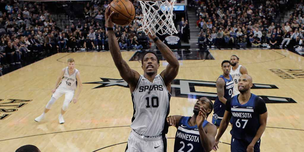 DeMar DeRozan Spurs