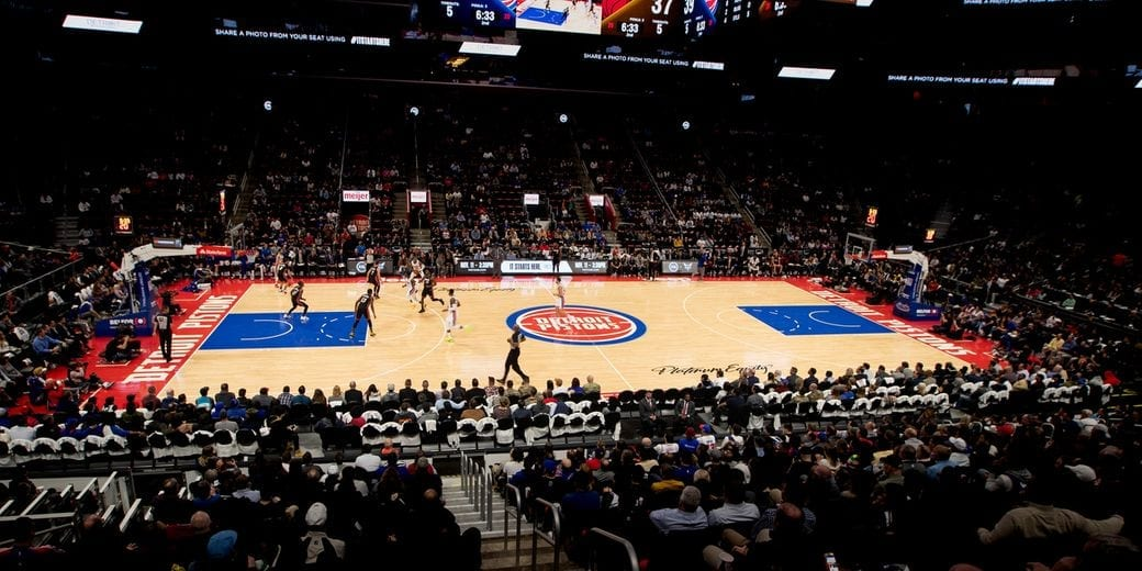 Detroit Pistons Court