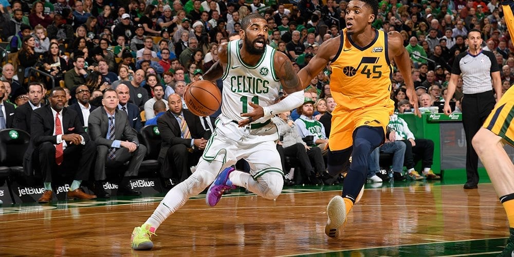 Kyrie Irving Celtics vs Jazz