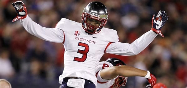 Keesean Johnson Star WR Fresno State
