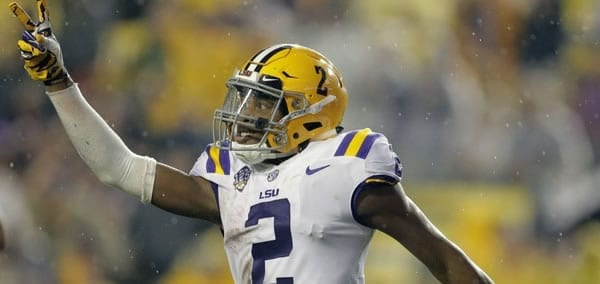 LSU Leading Receiver Justin Jefferson