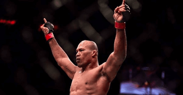 Ronaldo Souza UFC 230 on Deck