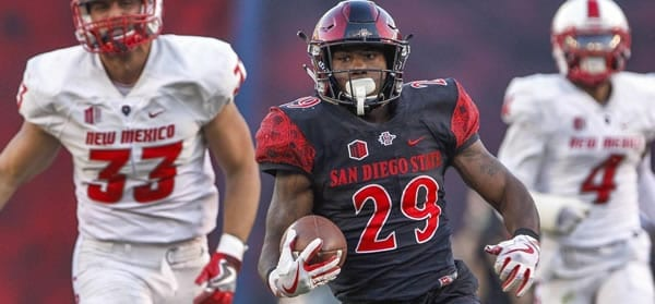Juwan Washington RB San Diego State