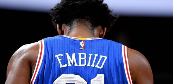 Joel Embiid 76ers is questionable against the Warriors