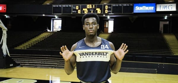 Vandy's Aaron Nesmith