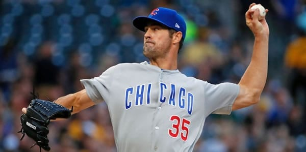 Cole Hamels Cubs Starting Pitcher