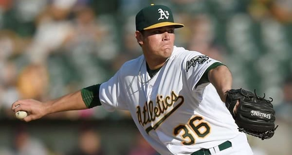 Aaron Brooks A's Starting Pitcher