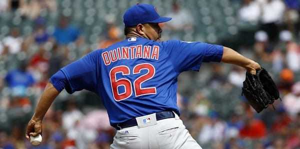 Jose Quintana Cubs Starting Pitcher