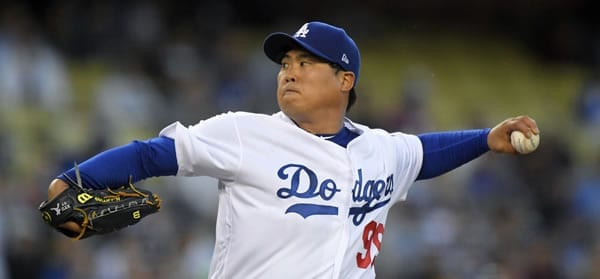 Hyun Jin Ryu La Dodgers
