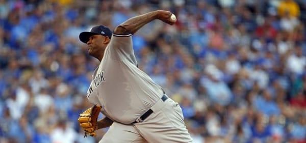 CC Sabathia Yankees Starting Pitcher