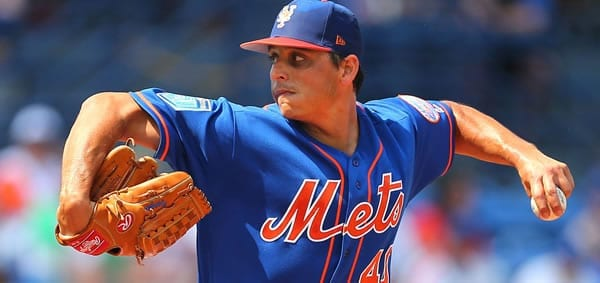 Jason Vargas NY Mets starting pitcher