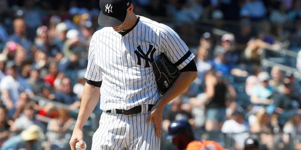 J.A. Happ Yankees Starting Pitcher