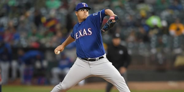 Ariel Jurado Rangers Starting Pitcher