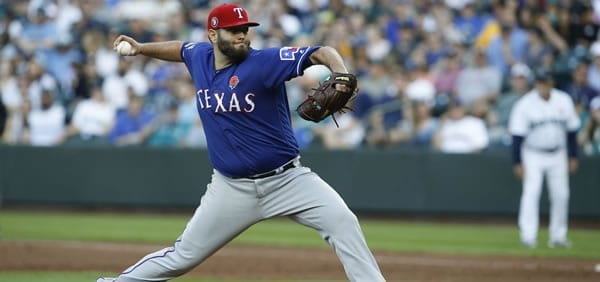 Lance Lynn Rangers Starting Pitcher