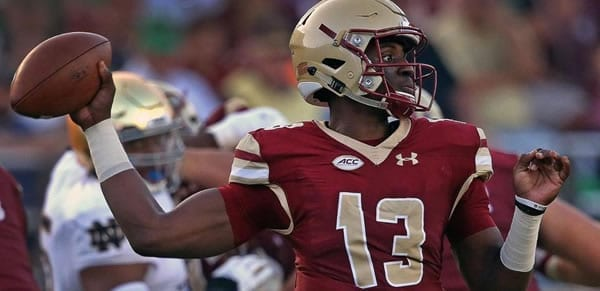 Boston College QB Anthony Brown