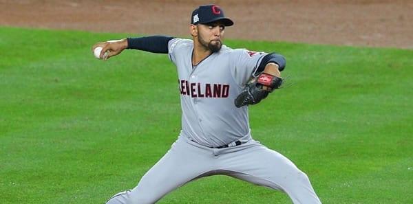 Danny Salazar Indians Starting Pitcher