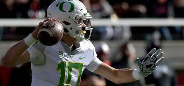 Justin Hebert QB Oregon