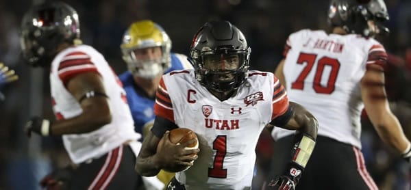Tyler Huntley Utah QB