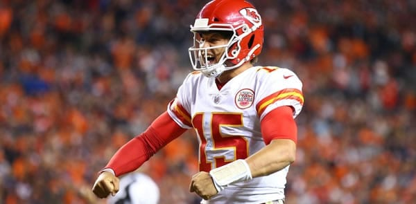 Patrick Mahomes KC Starting QB