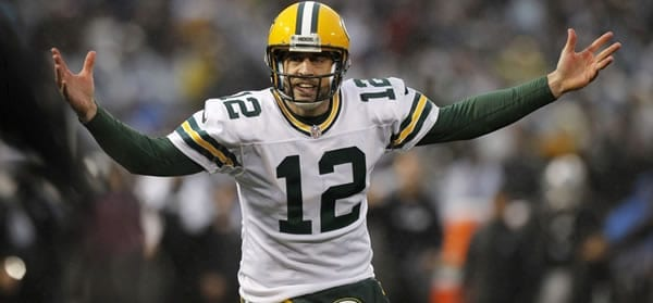 Aaron Rodgers Packers QB